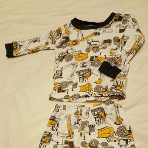3/$15 Carter's construction kids pajamas